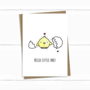 Baun Bon Card - New Baby (Chick)