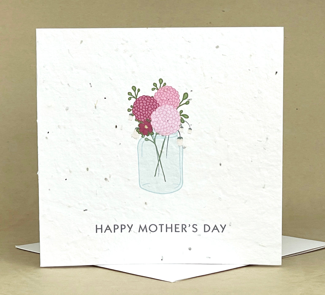 Okku Plantable Card - Mother's Day