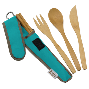 To Go Reusable Bamboo Utensil Set