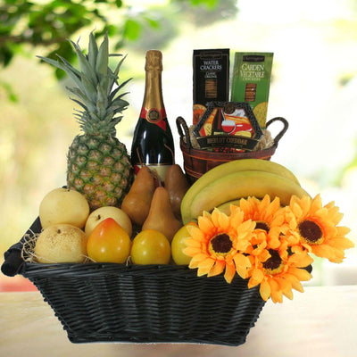 Great Harvest Champagne Gift Basket