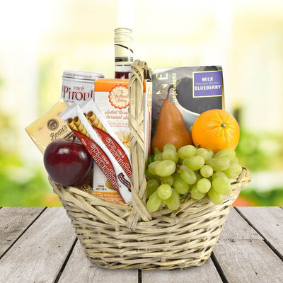 The Bountiful Market Wine Gift Basket