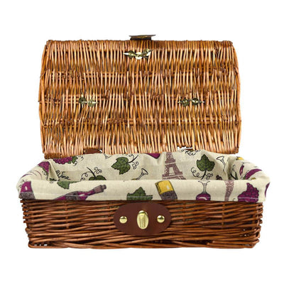 Willow Lined Basket