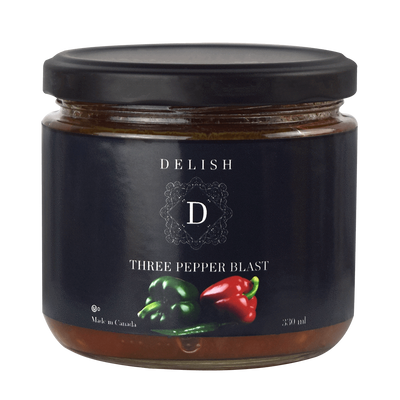 Delish Three Pepper Blast