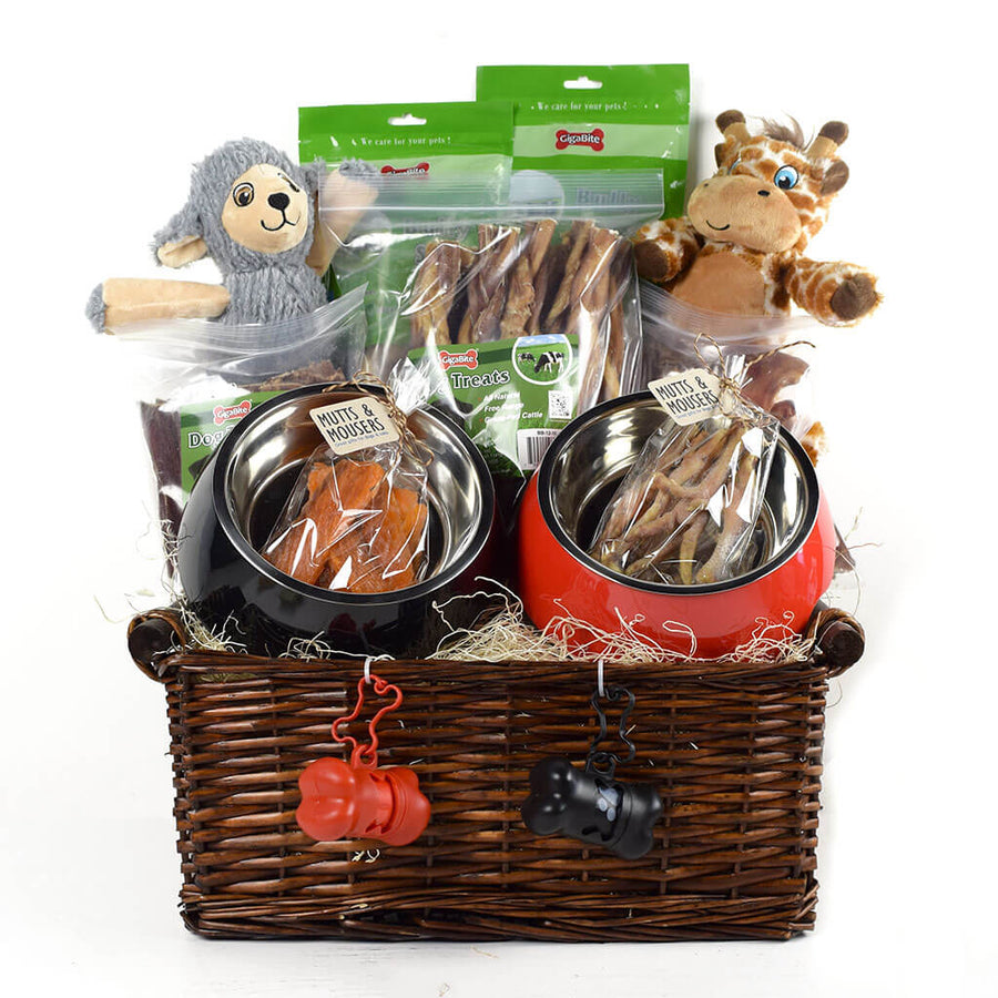 For The Love Of Dogs Gift Basket