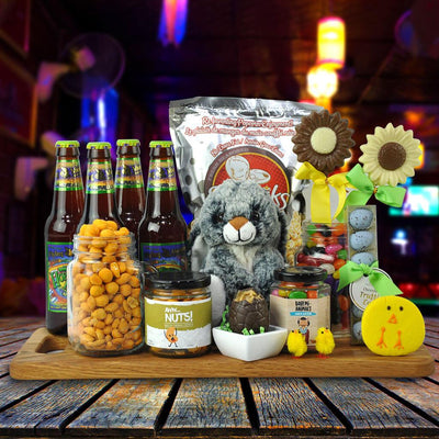 Hoppin' Hops Easter Beer Basket