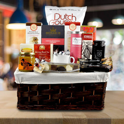 The Bordeaux Willow Gourmet Gift Basket