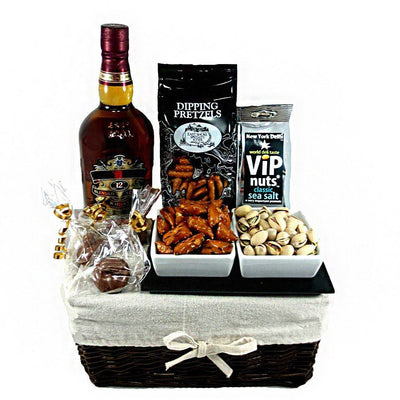 The Curling and Spirits Gourmet Gift Basket