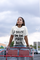I Skate On The First Date Unisex T-Shirt