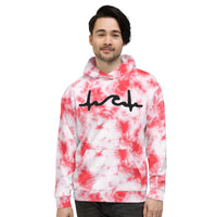 I Skate On The First Date Tie Dye Unisex Hoodie