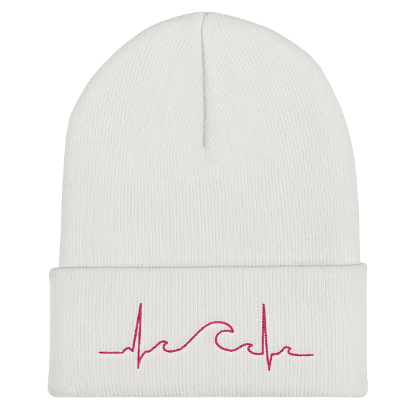 Pink SurfBeat Winter Beanie