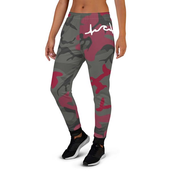 Red Camo Women's Joggers