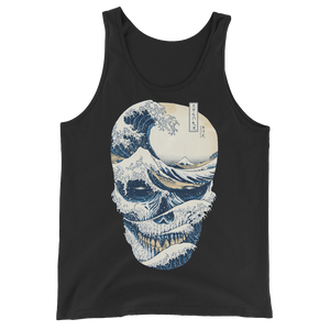 Wave Off Skull Unisex  Tank Top