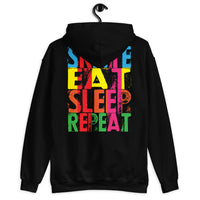 Skate Eat Sleep Repeat Unisex Hoodie