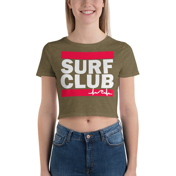 Surf Club DMC Crop Top Tee