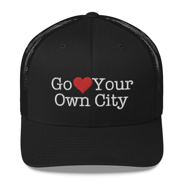Go Heart Your Own City Trucker Hat