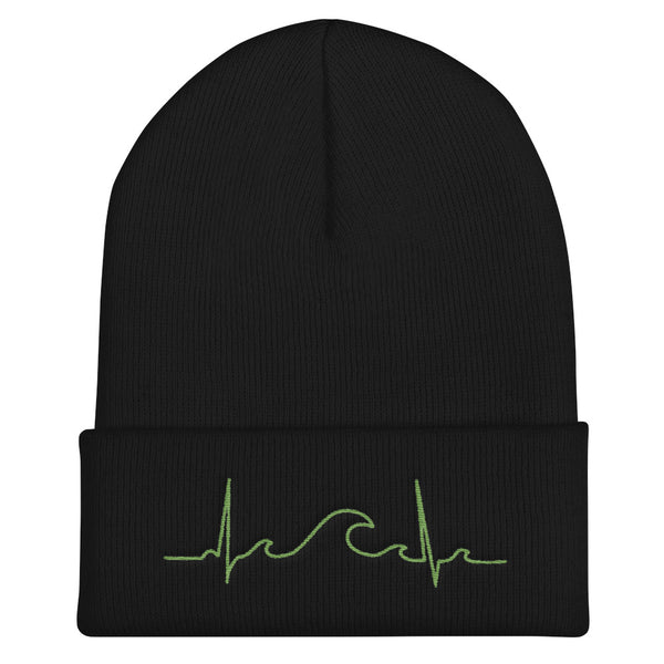 Green Surfbeat Winter Beanie