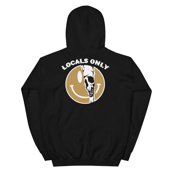 Smile Locals Only Unisex Hoodie