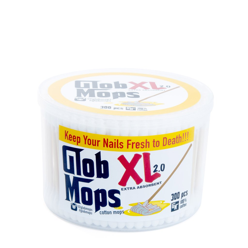 Glob Mops XL 2.0 Extra Absorbent Cotton Swabs