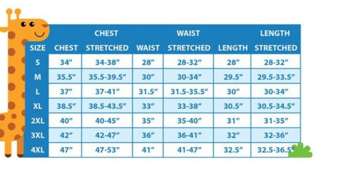 adult onesies abdl little space cgl ddlg playground size chart