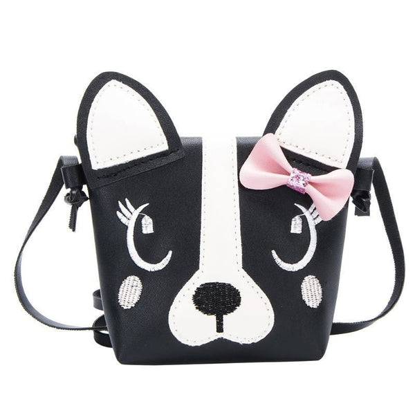 3D vegan leather puppy dog handbag purse messenger bag shoulder bag satchel kawaii harajuku japan fashion by ddlg playground