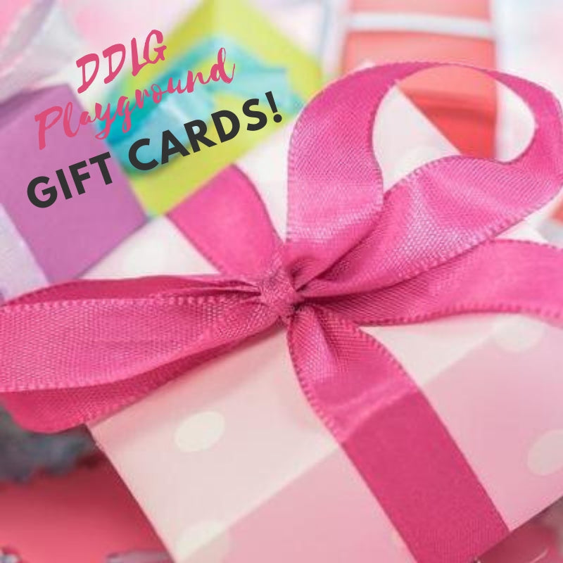 DDLG Playground Gift Cards