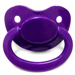 dark purple adult pacifier paci binkie soother mouth guard nipple autism autistic little space ddlg cgl abdl cglre age regression agere