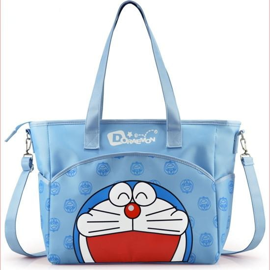 Blue Doraemon Adult Diaper Bag ABDL Tote Bag Handbag Ageplay Diaper Lover Kink Fetish by DDLG Playground