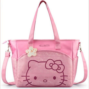 Pink Hello Kitty Adult Diaper Bag ABDL Tote Bag Handbag Ageplay Diaper Lover Kink Fetish by DDLG Playground