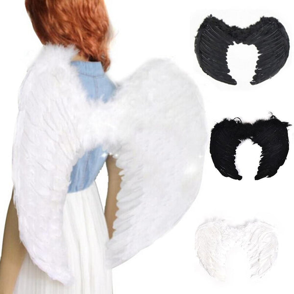 Angel Wings - White 45x35 cm - accessories