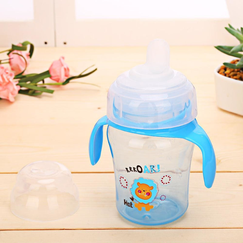 Baby Animal Blue Lion Sippy Cup Juice Water Bottle Drinking Glass ABDL CGL Age Play Adult Baby by DDLG Playground