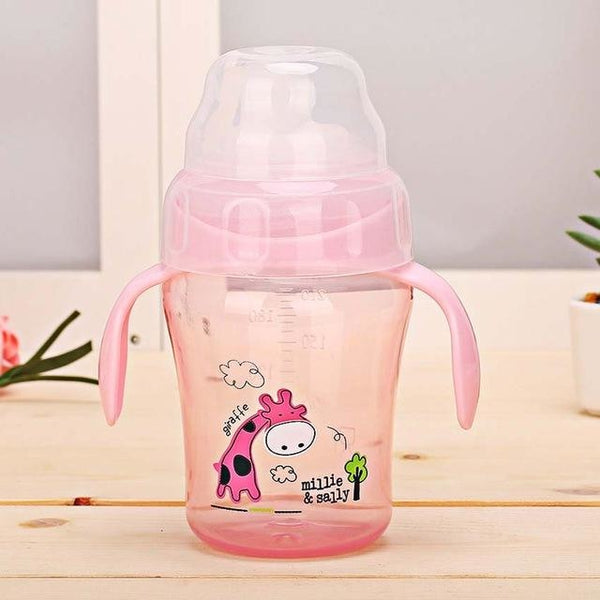 Baby Animal Pink Sippy Cup Juice Water Bottle Drinking Glass ABDL CGL Age Play Adult Baby by DDLG Playground