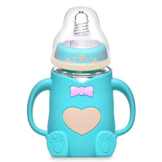 Adult Baby Bottle Teal Bear ABDL Age Play Long Teet Nipple Kinky Fetish CGL by DDLG Playground