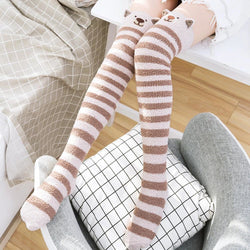 Baby Bear Thigh Highs - abdl,adult babies,adult baby,adult baby diaper lover,age play