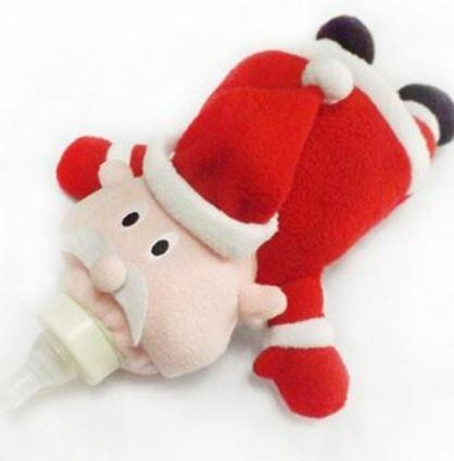 Adult Baby Bottle Holder Santa Clause Stuffed Animal Thermal Bag Buddy ABDL CGL Kink Fetish by DDLG Playground