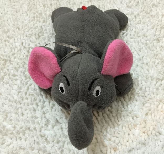 Adult Baby Bottle Holder Elephant Stuffed Animal Thermal Bag Buddy ABDL CGL Kink Fetish by DDLG Playground
