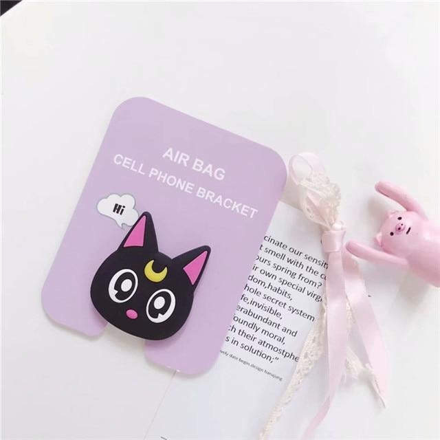 Baby Phone Finger Rings - Luna Cat - phone ring