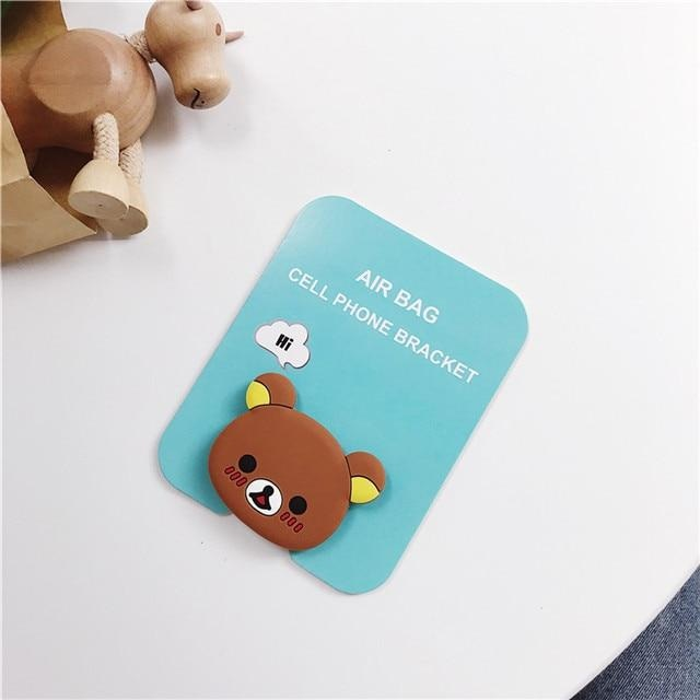 Baby Phone Finger Rings - Rilakkuma - phone ring