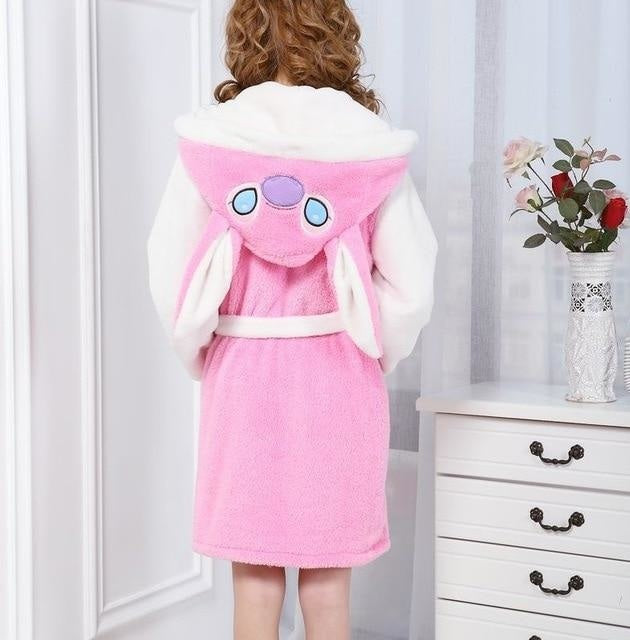 Baby Stitch Bath Robe - Light Pink Stitch / S - Shoes