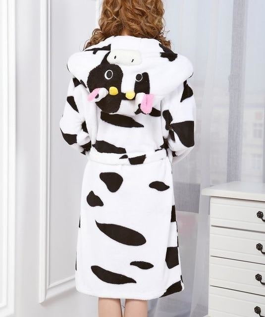 Baby Stitch Bath Robe - Cow / S - Shoes