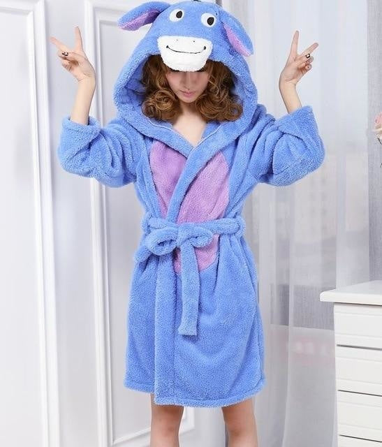 Baby Stitch Bath Robe - Eeyore / S - Shoes