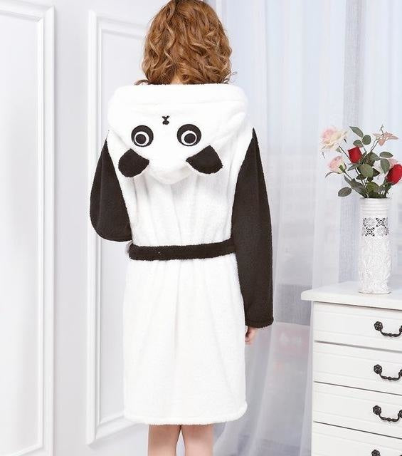 Baby Stitch Bath Robe - Panda / S - Shoes