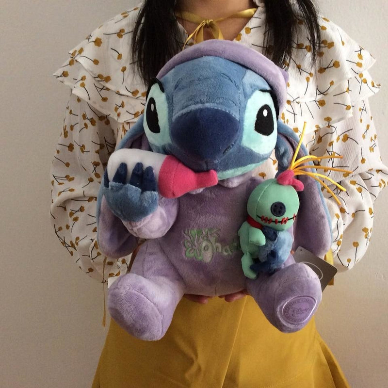 Baby Stitch Plush Toy Disney Lilo & Stitch Bottle Scrump Stuffed Toy Soft Cute Kawaii ABDL CGL DDLG