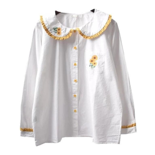 Baby Sunflower Blouse - shirt