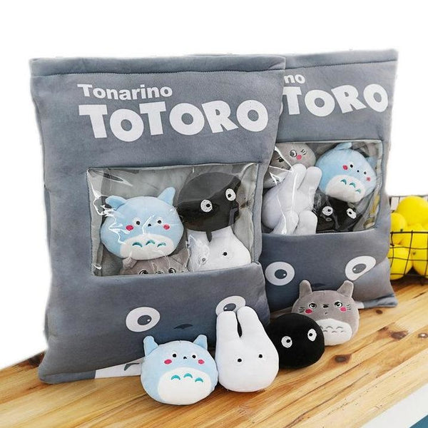 Bag Of Totoro Plushies - stuffed animal