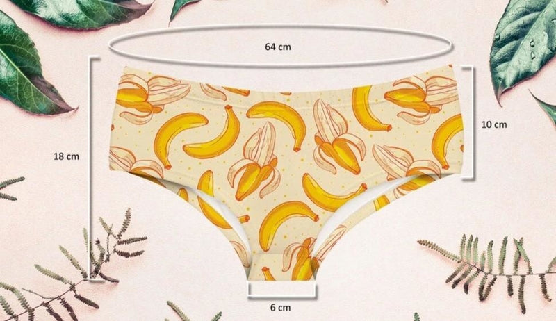 Banana Babe Panties - underwear