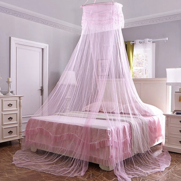 Basic Bed Canopy - Pink - bedding