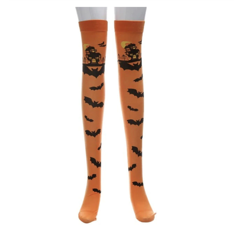 Batty Stockings - Orange - socks