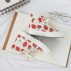 Berry Babe Sneakers - High Top / 4 - Shoes