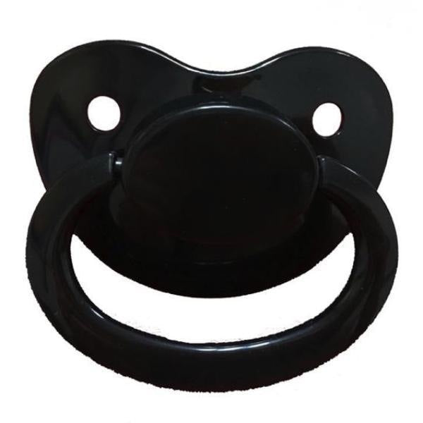 black adult pacifier paci binkie soother mouth guard nipple autism autistic little space ddlg cgl abdl cglre age regression