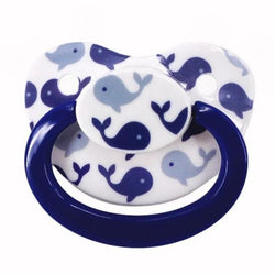 Blue Whale Adult Pacifier - pacifier
